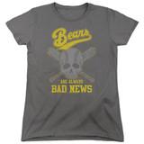 Bad News Bears Always Bad News Women's T-Shirt Charcoal