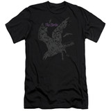 The Birds Poster Adult 30/1 T-Shirt Black