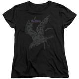 The Birds Poster Women's T-Shirt Black