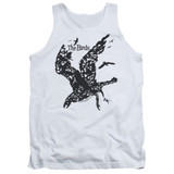 The Birds Title Adult Tank Top T-Shirt White
