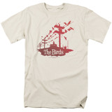 The Birds On A Wire Adult 18/1 T-Shirt Cream