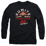 Bloodsport Championship 88 Adult Long Sleeve T-Shirt Black