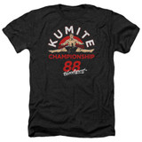 Bloodsport Championship 88 Adult Heather T-Shirt Black