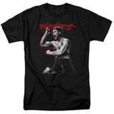 Bloodsport Loud Mouth Adult 18/1 T-Shirt Black