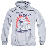 Bloodsport Death Touch Adult Pullover Hoodie Sweatshirt Athletic Heather