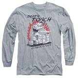 Bloodsport Death Touch Adult Long Sleeve T-Shirt Athletic Heather