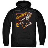 Bloodsport Action Packed Adult Pullover Hoodie Sweatshirt Black