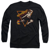 Bloodsport Action Packed Adult Long Sleeve T-Shirt Black