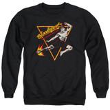 Bloodsport Action Packed Adult Crewneck Sweatshirt Black