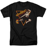 Bloodsport Action Packed Adult 18/1 T-Shirt Black
