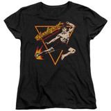 Bloodsport Action Packed Women's T-Shirt Black