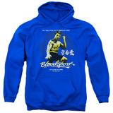 Bloodsport American Ninja Adult Pullover Hoodie Sweatshirt Royal Blue