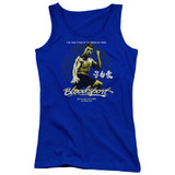 Bloodsport American Ninja Junior Women's Tank Top T-Shirt Royal Blue