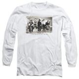 Breakfast Club Mugs Adult Long Sleeve T-Shirt White