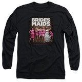Bridesmaids Poster Adult Long Sleeve T-Shirt Black