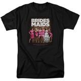 Bridesmaids Poster Adult 18/1 T-Shirt Black