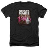 Bridesmaids Poster Adult Heather T-Shirt Black