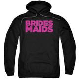 Bridesmaids Logo Adult Pullover Hoodie Sweatshirt Black