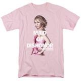 Bridesmaids Maid Of Dishonor Adult 18/1 T-Shirt Pink