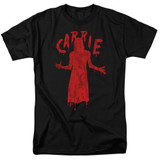 Carrie Silhouette Adult 18/1 T-Shirt Black