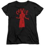 Carrie Silhouette Women's T-Shirt Black