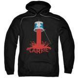 Carrie Bucket Of Blood Adult Pullover Hoodie Sweatshirt Black