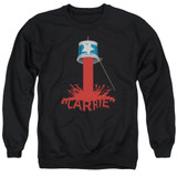Carrie Bucket Of Blood Adult Crewneck Sweatshirt Black