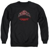 Carrie Prom Queen Adult Crewneck Sweatshirt Black