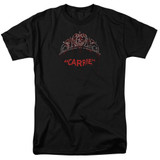Carrie Prom Queen Adult 18/1 T-Shirt Black