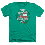 Christmas Vacation It Was Full Adult Heather T-Shirt Kelly Green