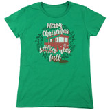 Christmas Vacation It Was Full Women's T-Shirt Kelly Green