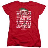 Christmas Vacation Jolliest Bunch Women's T-Shirt Red