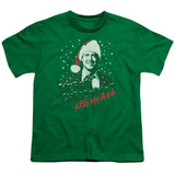 Christmas Vacation Merry Christmas Youth T-Shirt Kelly Green