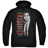 Christmas Vacation Profanities Adult Pullover Hoodie Sweatshirt Black