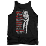 Christmas Vacation Profanities Adult Tank Top T-Shirt Black
