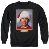 Christmas Vacation Hallelujah Adult Crewneck Sweatshirt Black