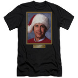 Christmas Vacation Hallelujah Premium Adult 30/1 T-Shirt Black