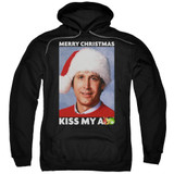 Christmas Vacation Merry Kiss Adult Pullover Hoodie Sweatshirt Black