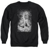 Corpse Bride Bird Dissolve Adult Crewneck Sweatshirt Black