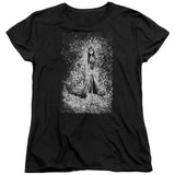 Corpse Bride Bird Dissolve Women's T-Shirt Black