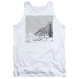 Corpse Bride My Darling Adult Tank Top T-Shirt White