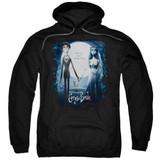 Corpse Bride Poster Adult Pullover Hoodie Sweatshirt Black