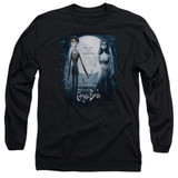 Corpse Bride Poster Adult Long Sleeve T-Shirt Black
