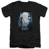 Corpse Bride Poster Adult V-Neck T-Shirt Black
