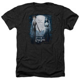 Corpse Bride Poster Adult Heather T-Shirt Black