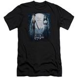 Corpse Bride Poster Premium Canvas Adult Slim Fit T-Shirt Black