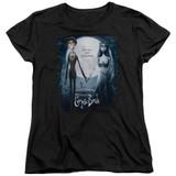 Corpse Bride Poster Women's T-Shirt Black