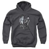Corpse Bride Runaway Groom Youth Pullover Hoodie Sweatshirt Charcoal