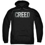Creed Logo Adult Pullover Hoodie Sweatshirt Black