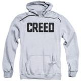 Creed Cracked Logo Adult Pullover Hoodie Sweatshirt Athletic Heather
